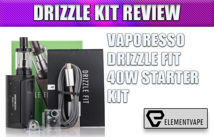 Vaporesso Drizzle Fit 40W Starter Kit Review by Spinfuel VAPE