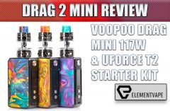 VooPoo Drag 2 Mini Starter Kit Review by Spinfuel VAPE