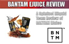 BANTAM EJUICE REVIEW BY SPINFUEL VAPE