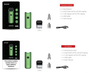 SMOK Nord Pod System Kit Features