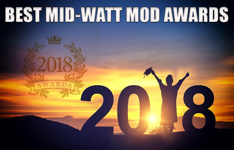 Best Mid-Wattage Mod Awards Spinfuel VAPE