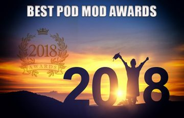 Best Pod Mod Award Spinfuel VAPE