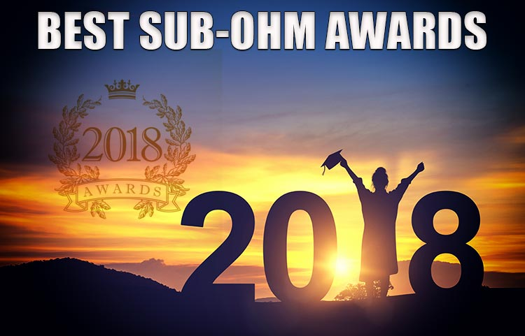 Best Sub-Ohm Tank Award Spinfuel VAPE 2018