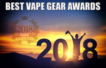 BEST VAPE GEAR Awards from Spinfuel VAPE