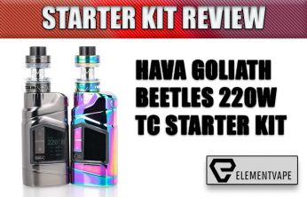 HAVA GOLIATH BEETLES 220W TC STARTER KIT