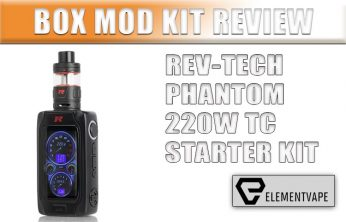 REV-TECH PHANTOM 220W TC STARTER KIT