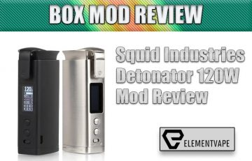 Squid Industries Detonator 120W Mod Review