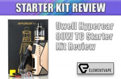 Uwell Hypercar 80W TC Starter Kit Review