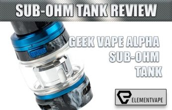 Geek Vape Alpha Sub-Ohm Tank Review