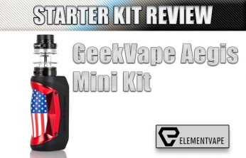 GeekVape Aegis Mini Kit Review Spinfuel VAPE