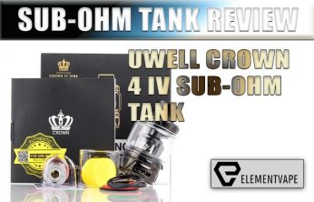 UWELL Crown 4 Sub-Ohm Tank Review