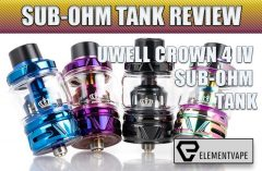 Uwell Crown 4 200W Mod Kit Review