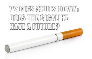 V2 Cigs Shuts Down: Does the Cigalike Have a Future?