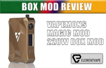 Vapemons Magic Mod 228W Box Mod Review