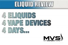 4 Eliquids, 4 Vape Devices, 4 Days...
