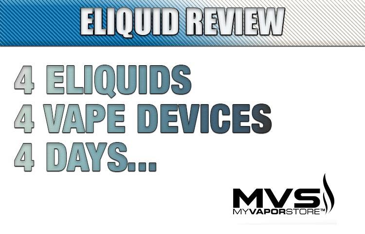 4 eLiquids, 4 Vape Devices, 4 Days…   Spinfuel VAPE