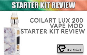 CoilART LUX 200 Vape Mod Kit Review