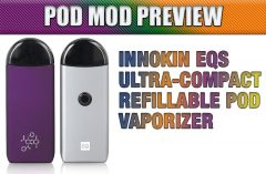 Innokin EQs Ultra-Compact Refillable Pod Vaporizer Preview