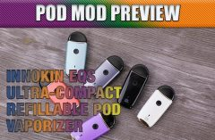Innokin EQs Ultra-Compact 2mL Pod Vaporizer Preview