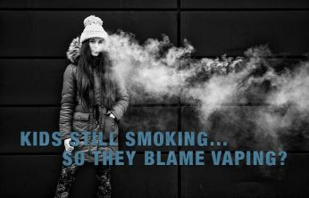 Kids Still smoking… So they Blame Vaping?