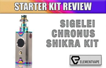 Sigelei Chronus Shikra Kit Review