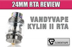 Vandy Vape Kylin II RTA Review