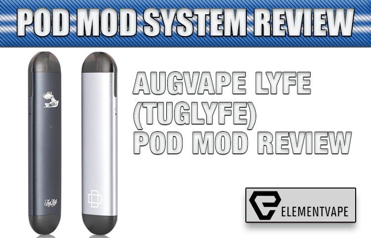Augvape Lyfe (Tuglyfe) Pod Mod Review   Spinfuel VAPE