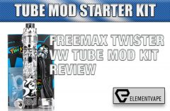 Freemax Twister VW Tube Mod Kit Review