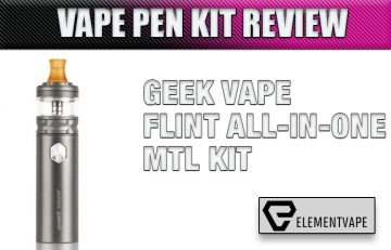 GeekVape FLINT AIO MTL Starter Kit Review