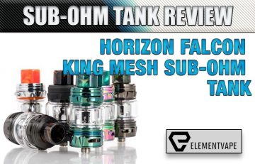 HorizonTech Falcon King Sub-Ohm Tank Review