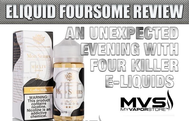 An Unexpected Evening with Four Killer E-Liquids | Spinfuel VAPE