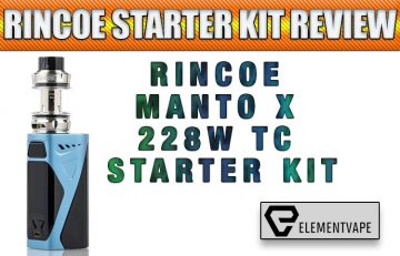 Rincoe Manto X 228W Mod Review
