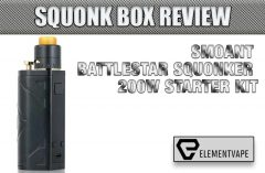 LOST VAPE DRONE BF SQUONK DNA250C TC MOD REVIEW   Spinfuel VAPE