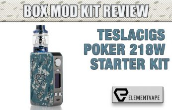 Teslacigs Poker 218W Mod Kit Review