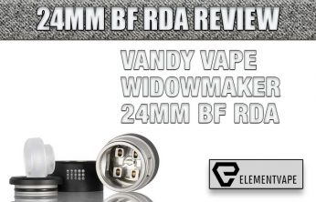 VANDY VAPE WIDOWMAKER 24MM BF RDA
