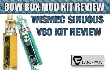 Wismec Sinuous V80 Kit Review