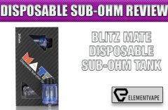 Blitz MATE Disposable Sub-Ohm Tank Review