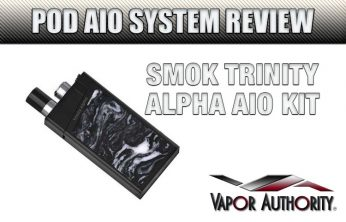 SMOK Trinity Alpha AIO Kit Review BLACK
