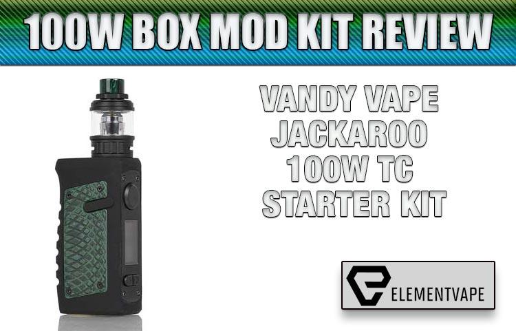 Vandy Vape Jackaroo 100W Mod Kit Review | Spinfuel VAPE