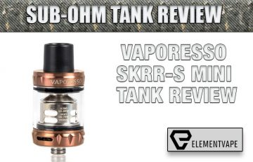 Vaporesso SKRR-S Mini Tank Review