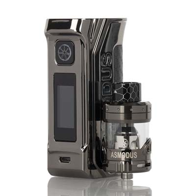 Asmodus Amighty 2X700 Mod Kit Review Tank and Mod