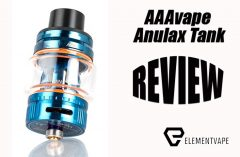 AAAvape Anulax Tank Review Spinfuel VAPE