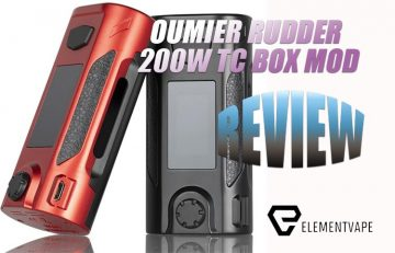 Can the OUMIER Rudder 200W Box Mod Offer Something Unique?