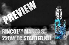 PREVIEW - MANTO S 228W TC STARTER KIT