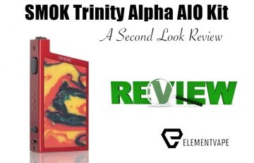 SMOK Alpha Trinity AIO Vape Starter Kit A Second Look