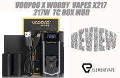 VOOPOO X WOODY VAPES X-217 217W TC BOX MOD