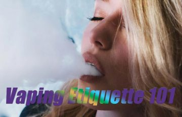 Vaping Etiquette 101: Ripping in Public?