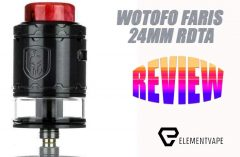 Wotofo Faris RDTA Review REVIEW