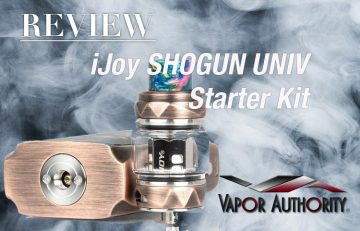 the iJoy SHOGUN UNIV 180W Mod KIT REVIEW