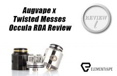Augvape x Twisted Messes Occula RDA Review